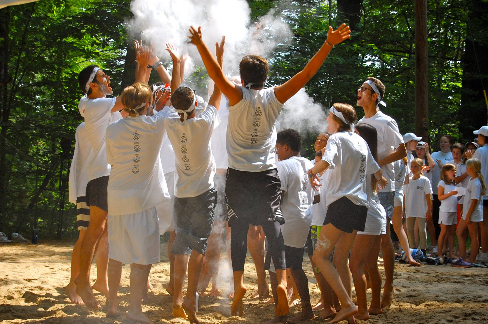 Camp Waziyatah color war